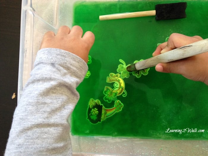 St Patrick's Day is almost here. Looking for fun preschool St Patricks Day activities for kids? Try this- Rescue St Patrick's Day!