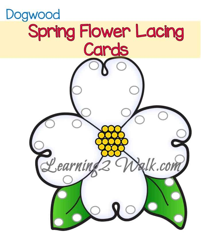 Fine motor activities are so important for not just pencil grasp but for day to day activities. My daughter loved these spring fine motor preschool activities lacing cards.