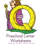 preschool letter worksheets Q