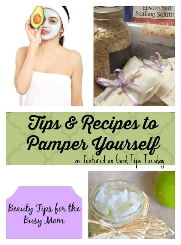 Tips and Recipes to Pamper Yourself (GT Tuesdays #59)