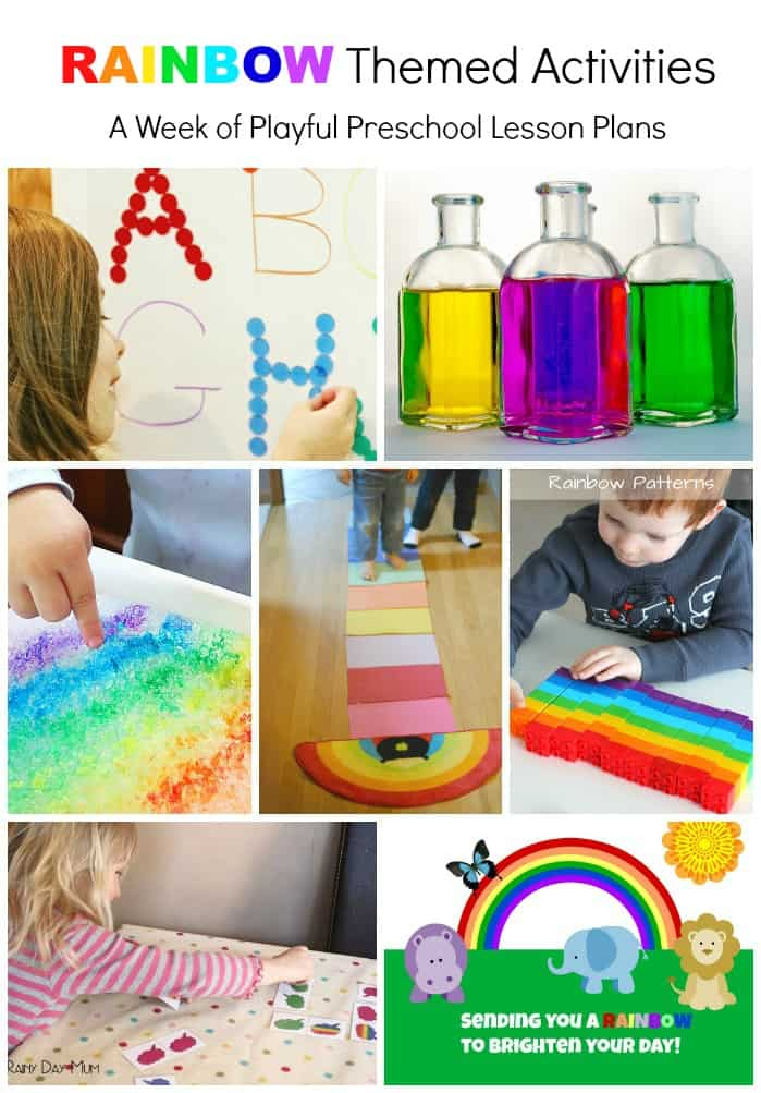 Rainbows, how many colours do you know? Here is a fun rainbow colors preschool science experiment that is easy. Any kid could do it! Can you make the colours disappear?