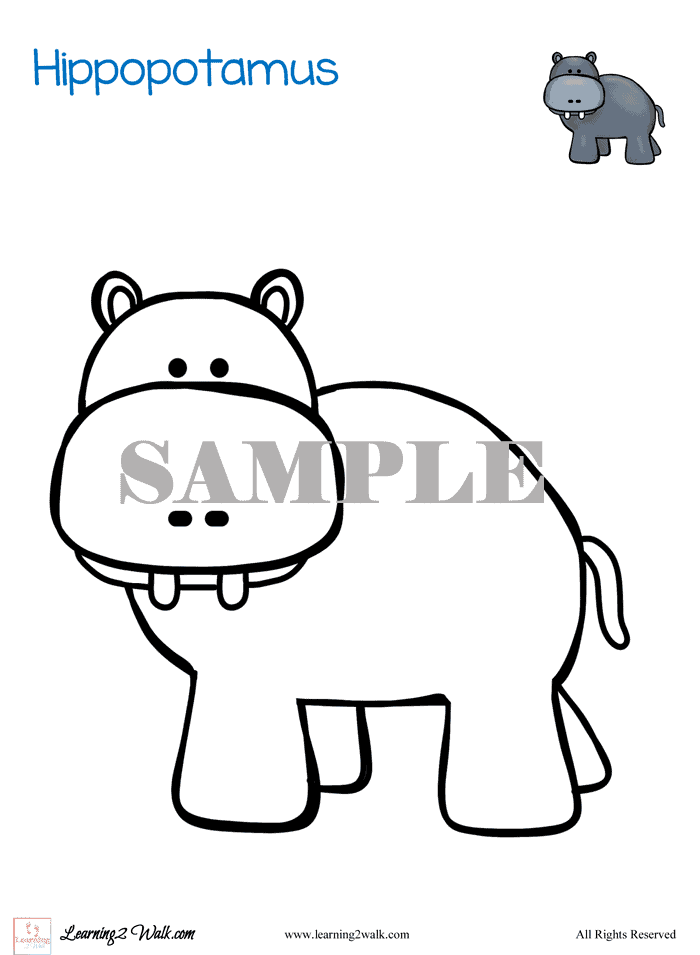 Free Zoo Animals Preschool Printable Worksheets