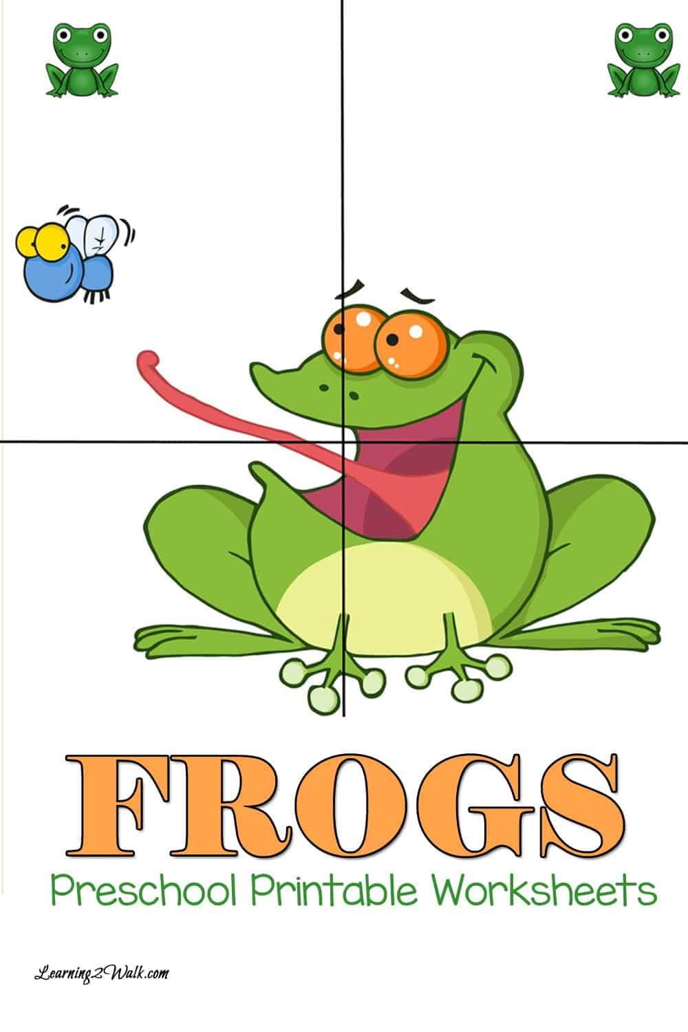 Try these free frogs preschool printable worksheets that include letter writing as well as tracing pages.
