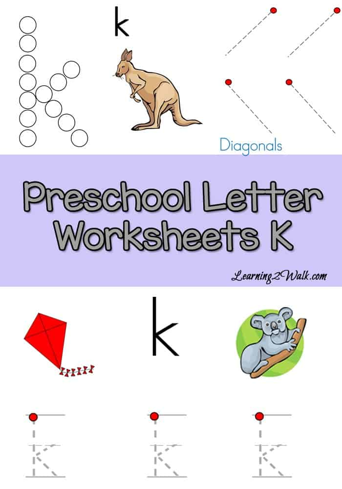K is for kite and king. Use these free preschool letter k worksheets to help your kids with letter k recognition and letter formation