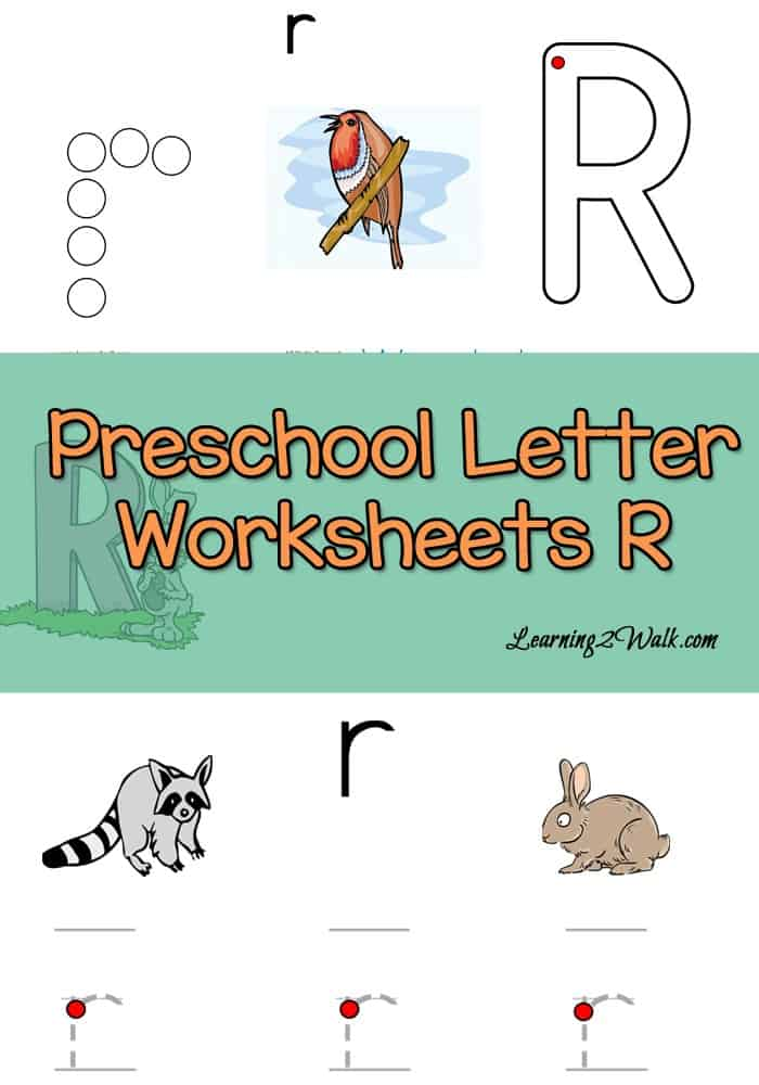 Loving the fact that these free preschool letter r worksheets help with alphabet recognition by using dot markers and a few other activities.