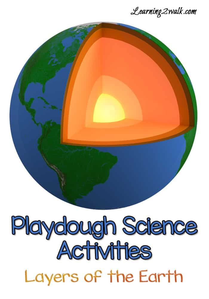Here is a hands on science activity for kids. Learn about the layers of the earth by using playdough