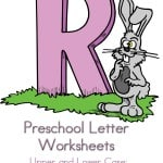Here are some free preschool Letter Worksheets for the letter r. These are sure to help your preschooler with their preschool letter recognition.
