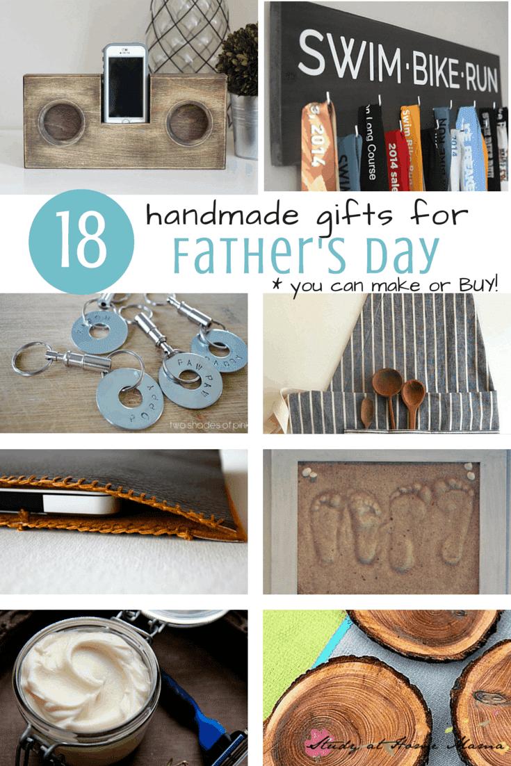 18 handmade gifts