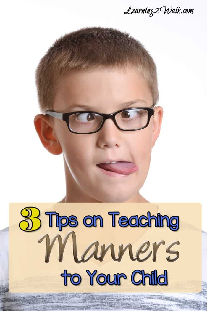 Teaching manners to kids can be a daunting task and yet it needs to be done. These 3 tips for teaching manners to your kids are definitely helpful