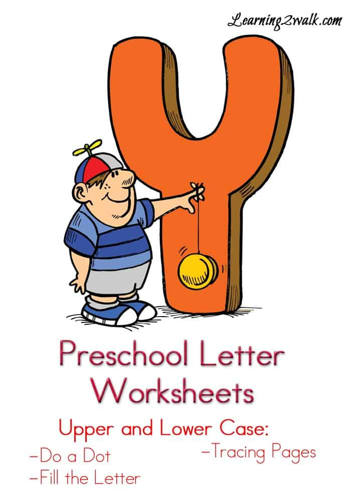 If you are looking for a few preschool letter y worksheets for your kids, then try these free colorful letter Y worksheets.