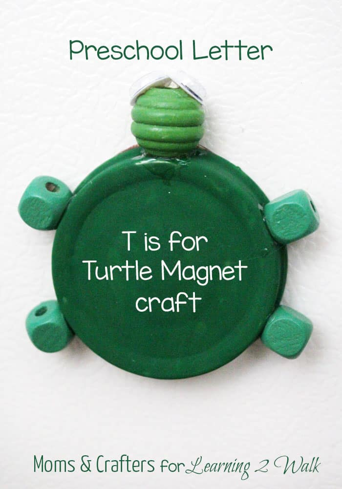 Preschool Letter Craft: T is for Turtle