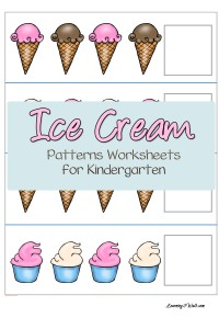 Kindergarten is such a fun stage with all its activities and kindergarten worksheets. Try these fun ice cream patterns worksheets for kindergarten.