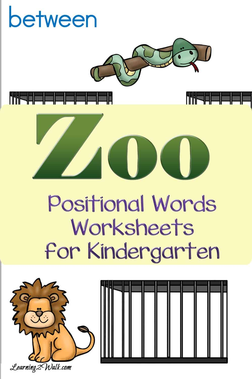 Don't you just love the zoo? Allow your kids to explore these zoo positional words worksheets for kindergarten