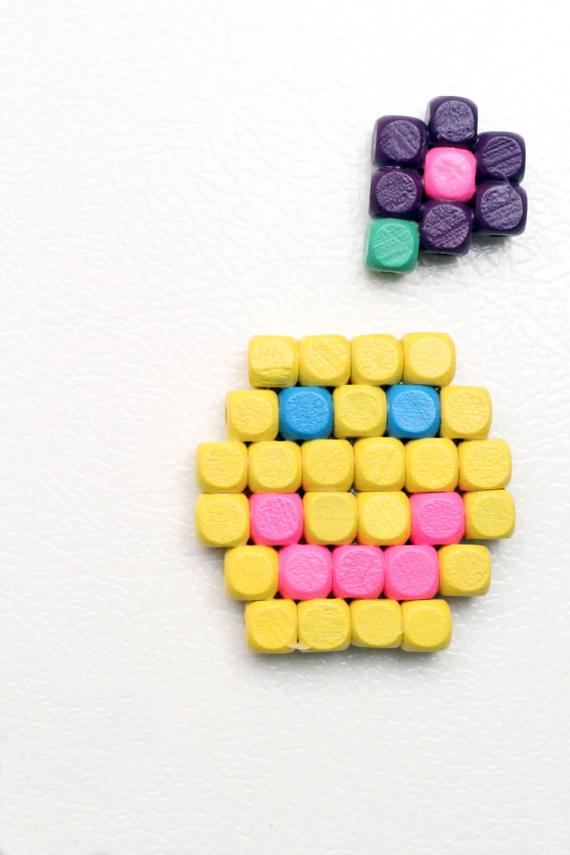 Math Kindergarten Activities: Pattern Magnets
