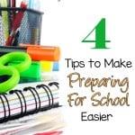 4 back to school tips to make preparing for school easier
