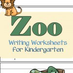 Enjoy these zoo writing worksheets for kindergarten that are designed to improve your kids zoo vocabulary