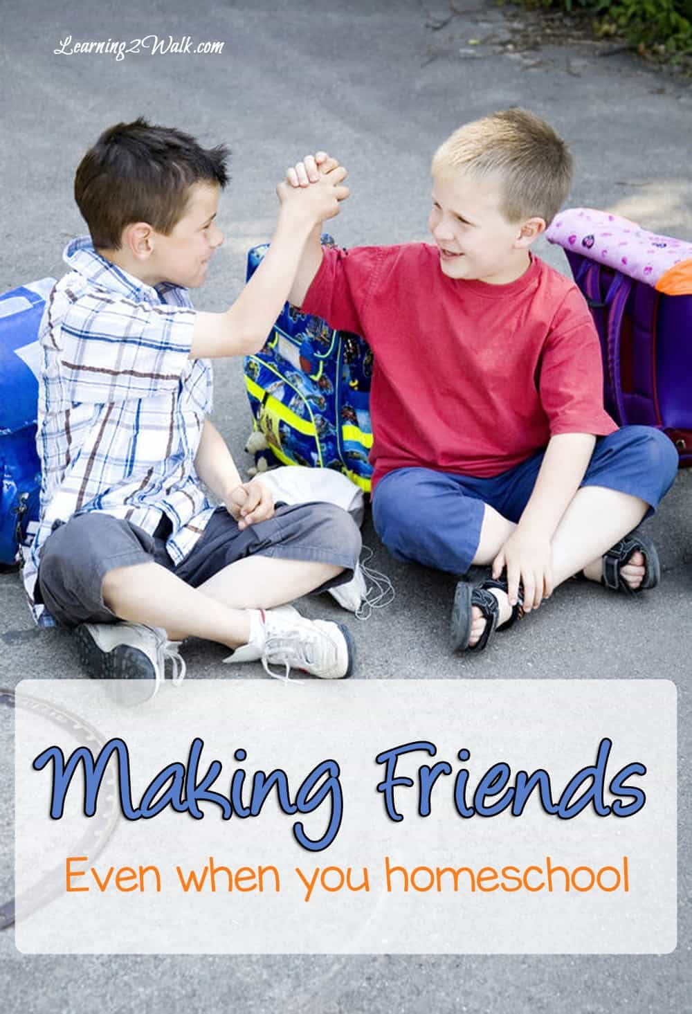 making friends even when you homeschool
