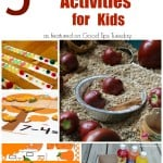 Autumn Inspired Preschool Kindergarten Activities