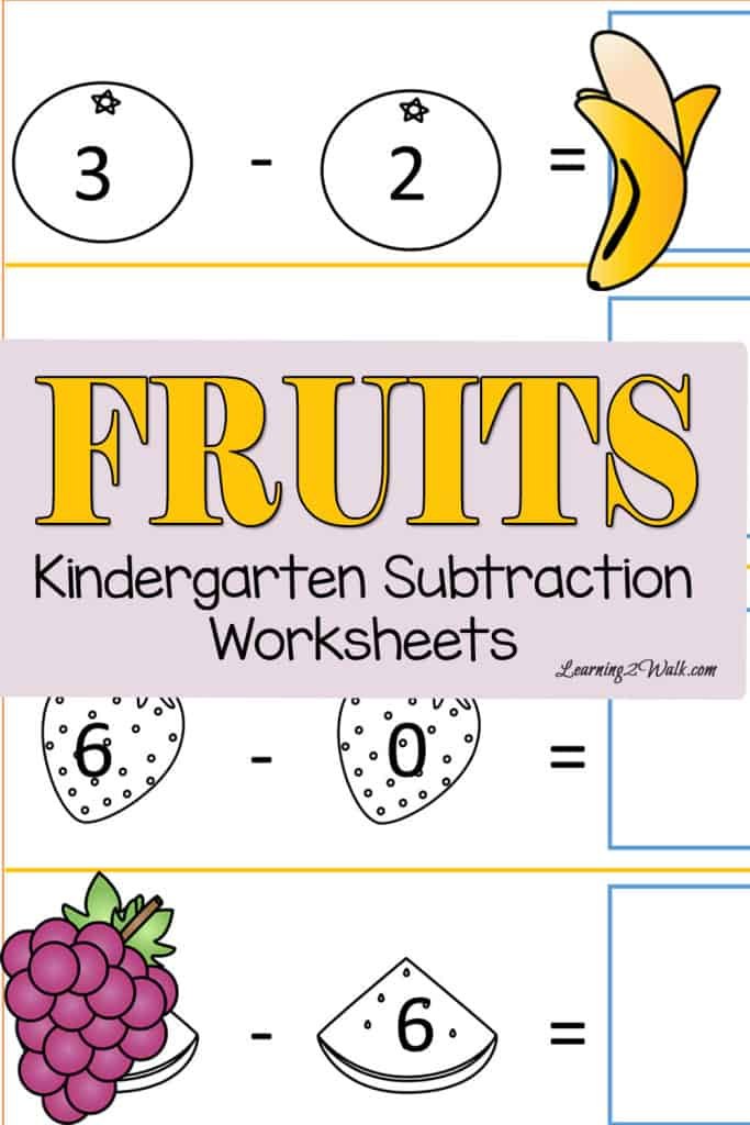 Beach Kindergarten Subtraction Worksheets. Allow Your Kids To Cut And Paste Their Way With Theses Free Fruits Kindergarten Subtraction Worksheets. Kindergarten. Kindergarten Subtraction Worksheets At Clickcart.co