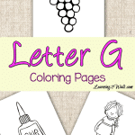 Use these letter g coloring pages as a part of your preschool letter activities.Use these letter g coloring pages as a part of your preschool letter activities.