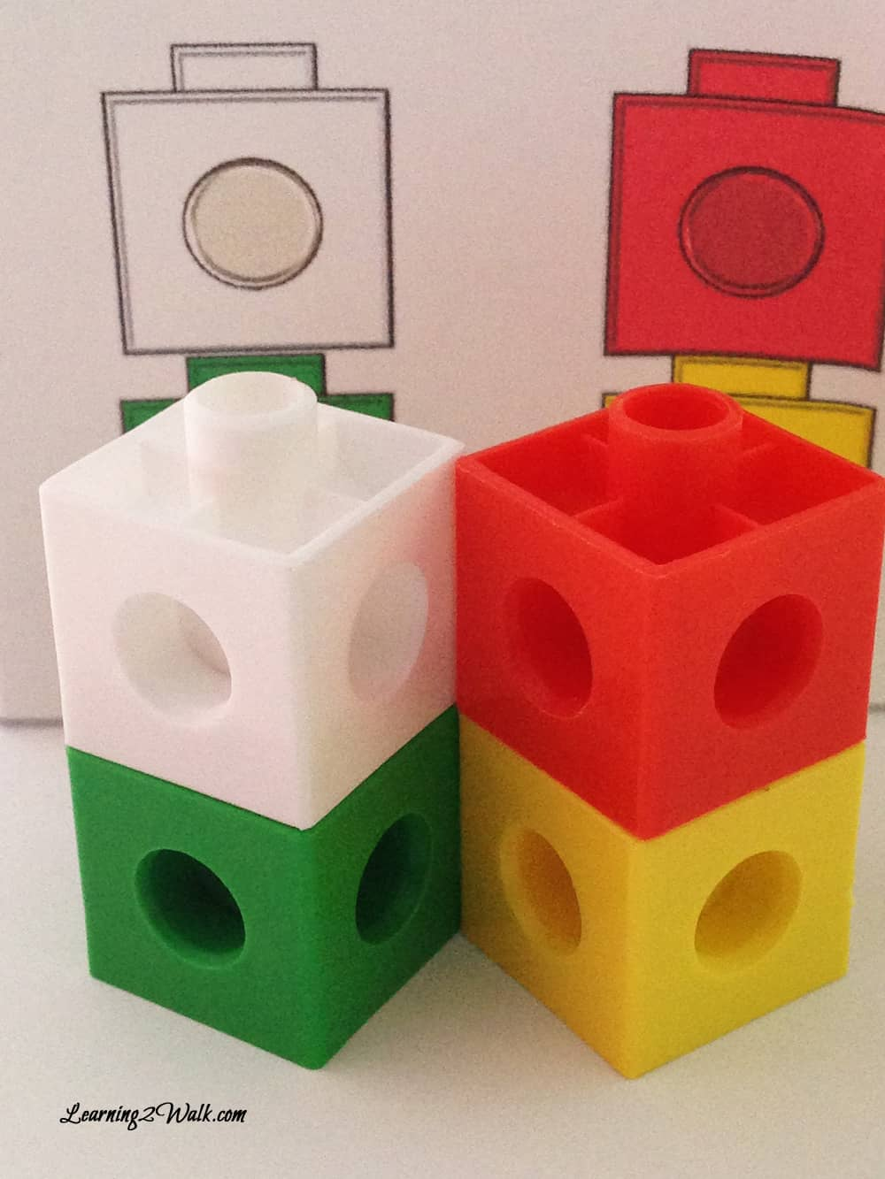 Wondering what to do with those snap cubes? Try some color snap cube pattern matching with these free worksheets.