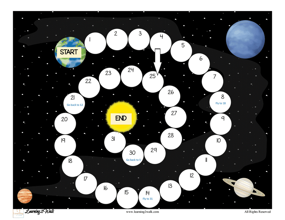 My daughter loved playing this solar system educational preschool game. It can even be used as a space theme activity and not just a solar system activity.
