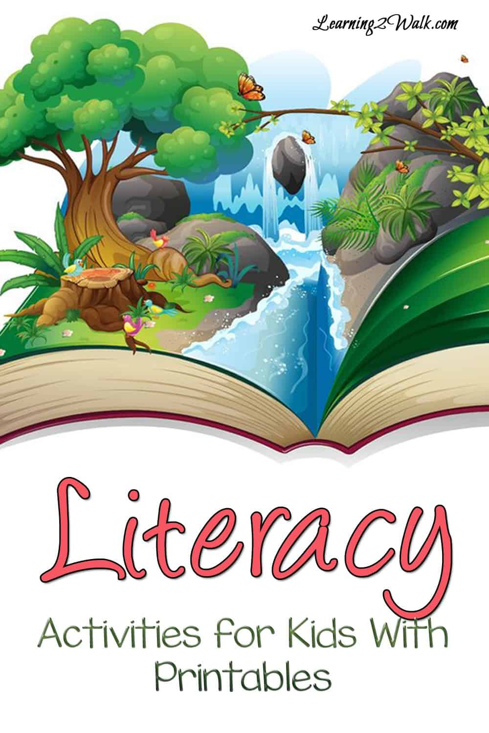 Looking for a few literacy activities for kids with printables? Perhaps an alphabet worksheet? Or a cvc word game? Try some of these