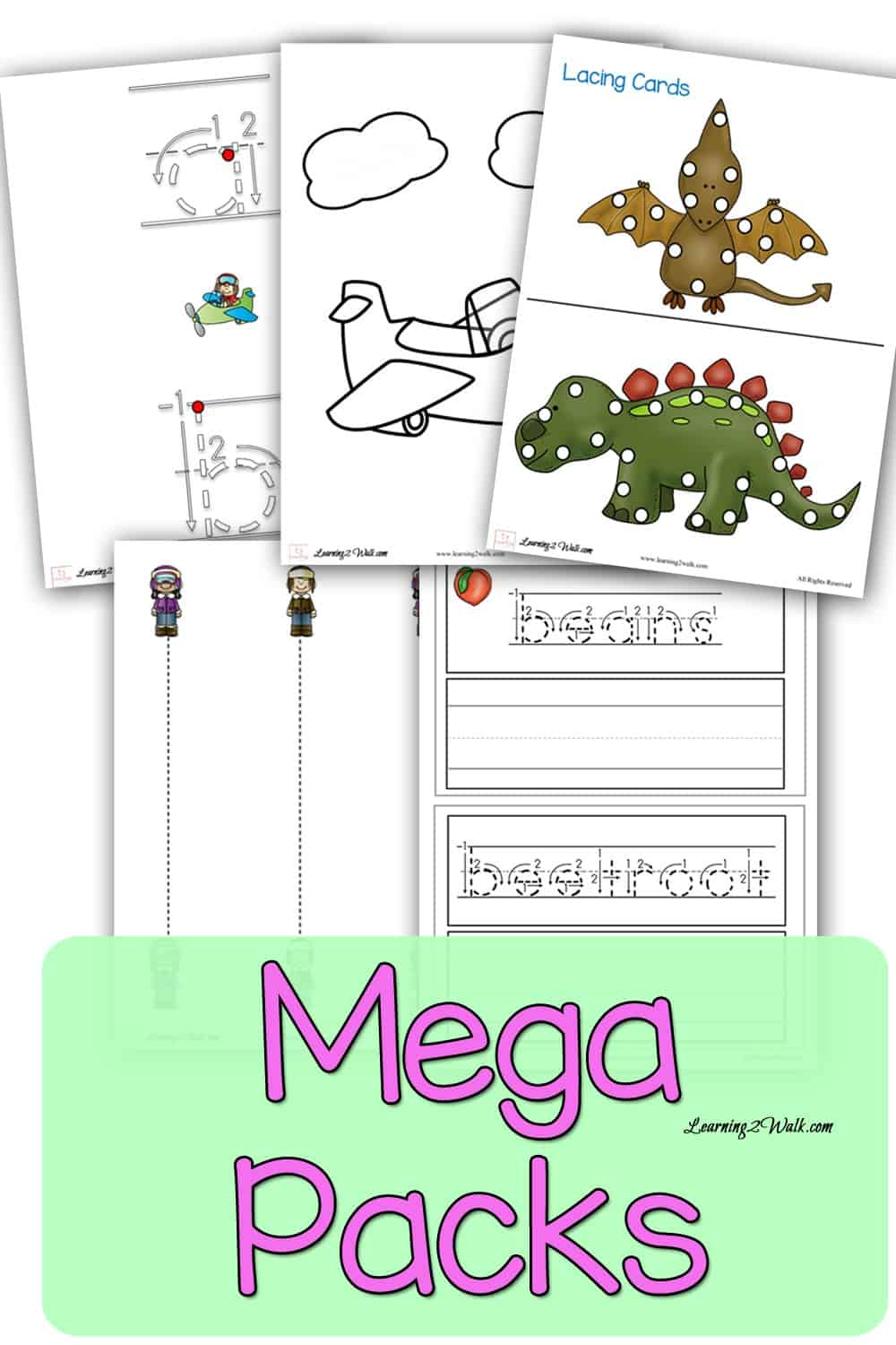 Looking for a complete pack for our kindergarten worksheets or preschool worksheets? Mega packs are what you need.