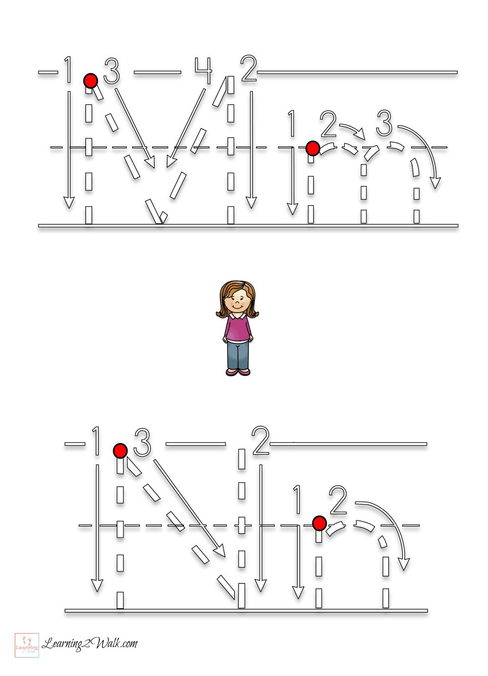 My Family Preschool Letter Worksheets – Preschool Letter Worksheets