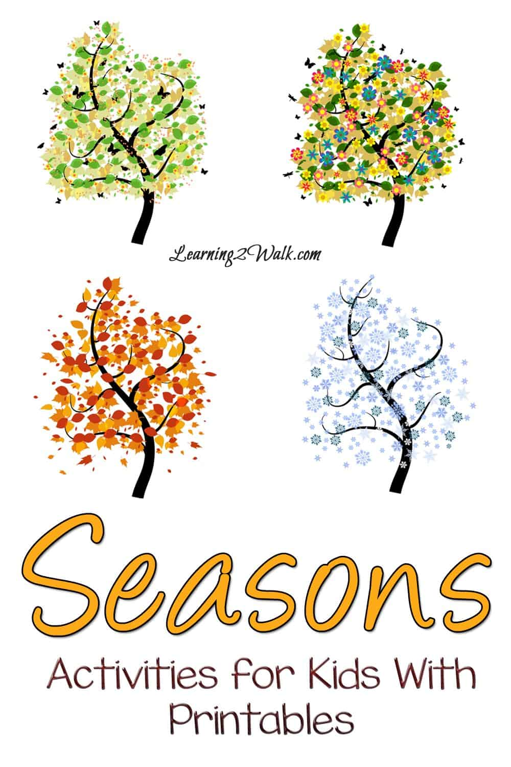 Don't you just love the different seasons and all the season activities for kids with printables that can be done? Why not try a few of these kid activities?