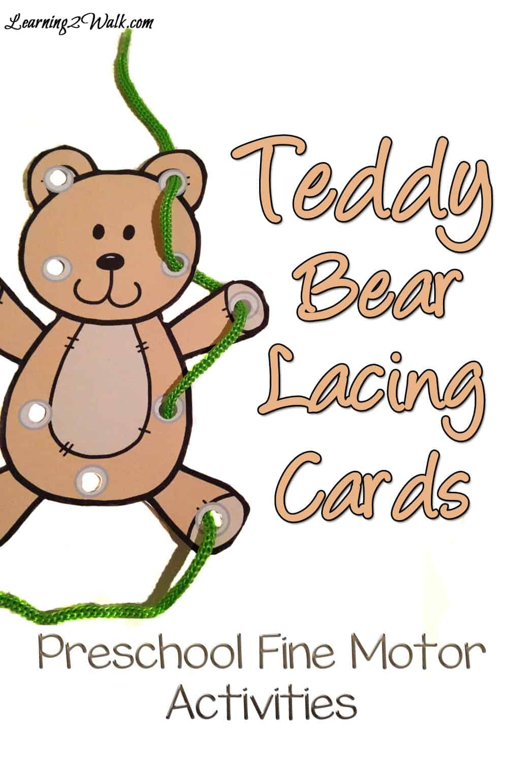 Teddy Bear Preschool Fine Motor Activities