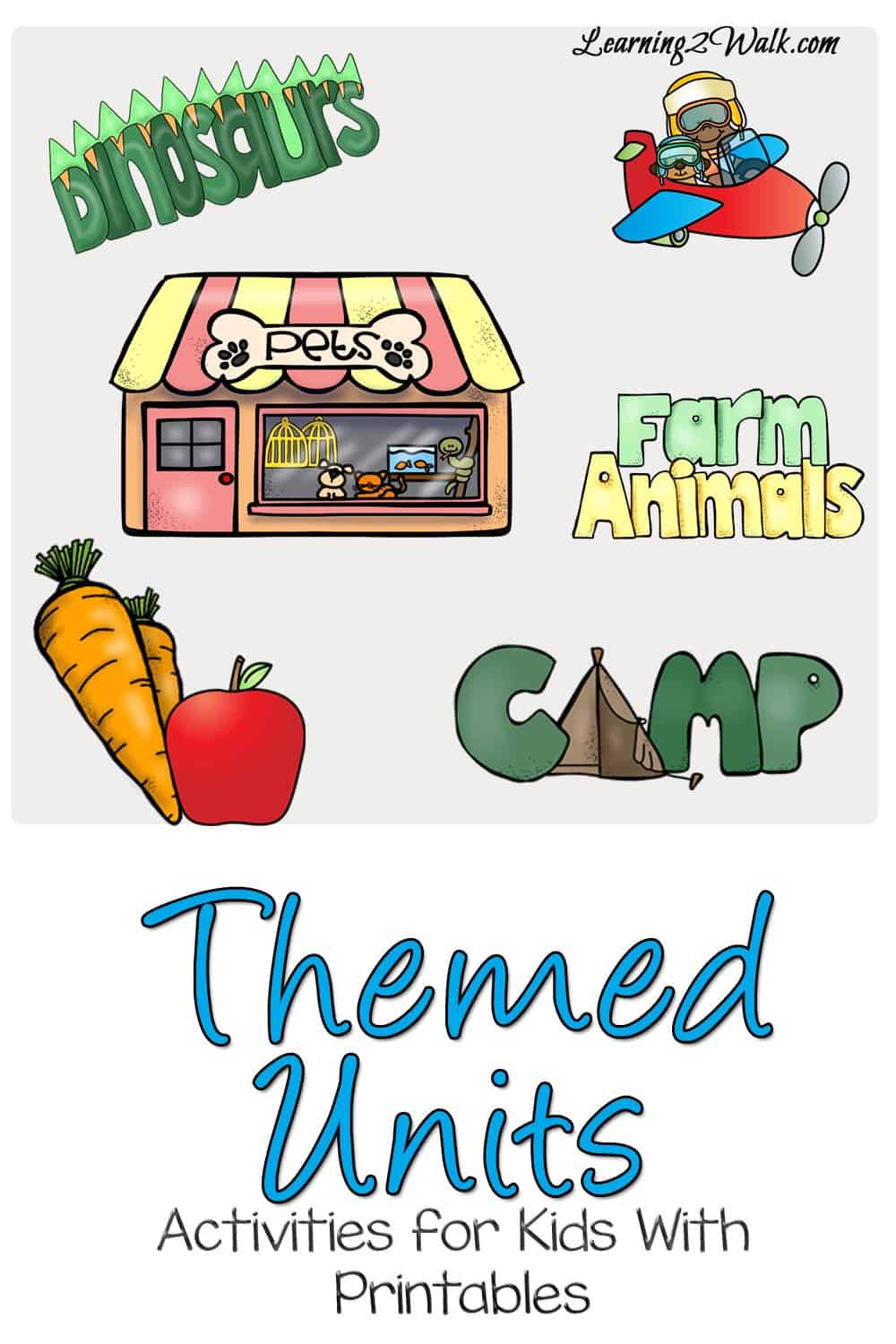 We have done so many themed units to date inboth kindegarten and preschool. Some of our preschool themes and kindergarten themes include fruits and vegetables, farm animals as well as my family.