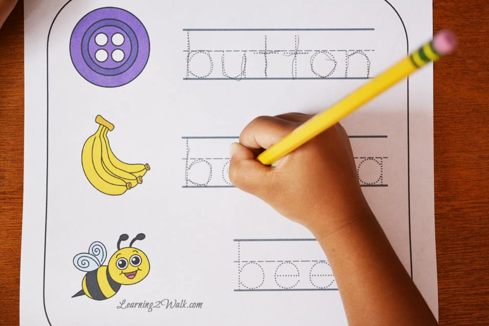 Work on the beginning sounds b with these free hands on worksheets