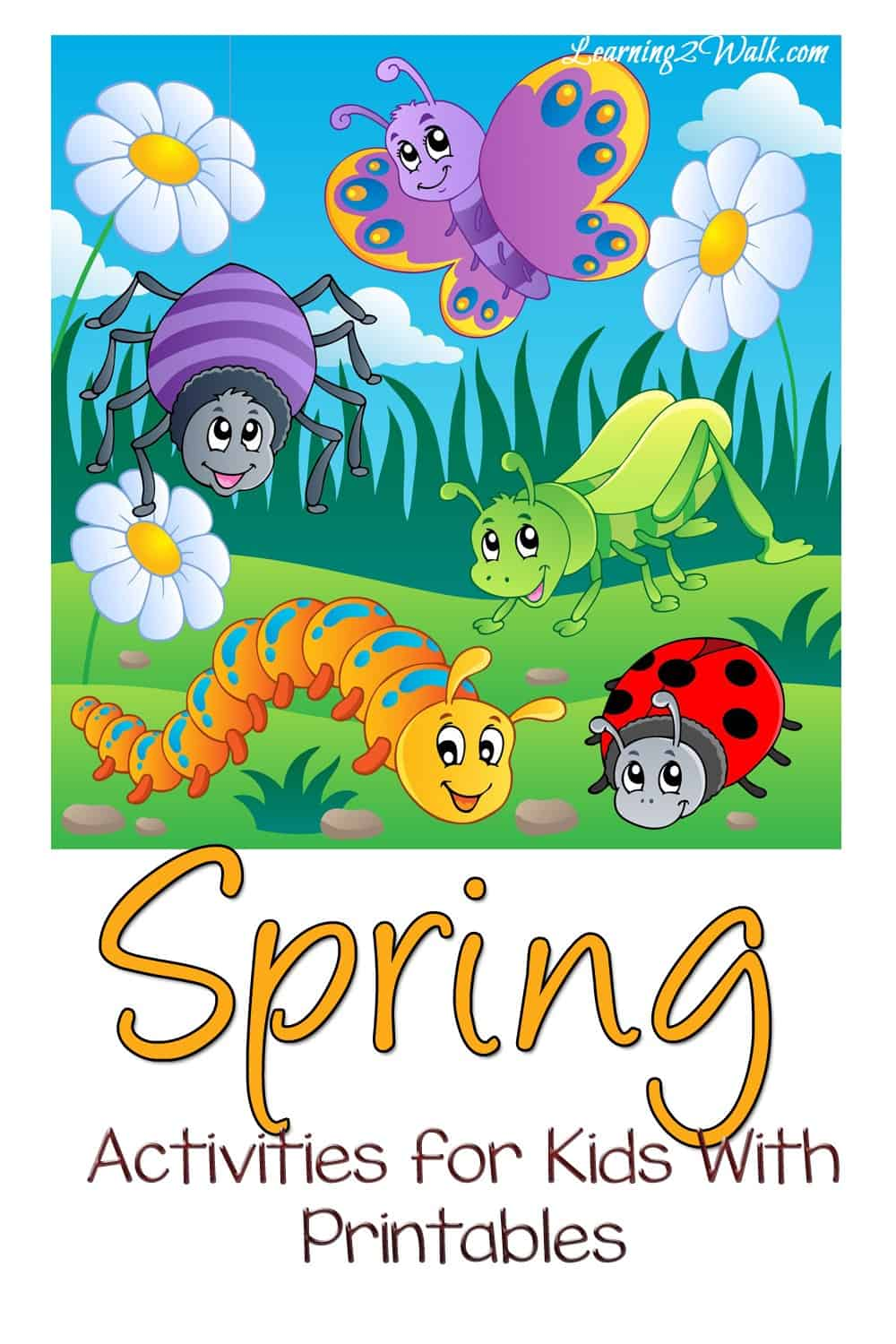 Don't you love all the joy that spring brings? The bugs and the flowers? If you are looking for some spring activities with printables for kids, use some of these!
