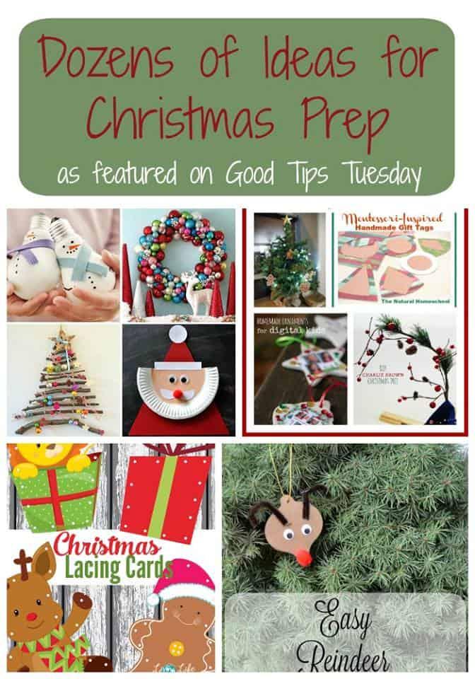 GTT #100: Dozens of Ideas for Christmas Prep