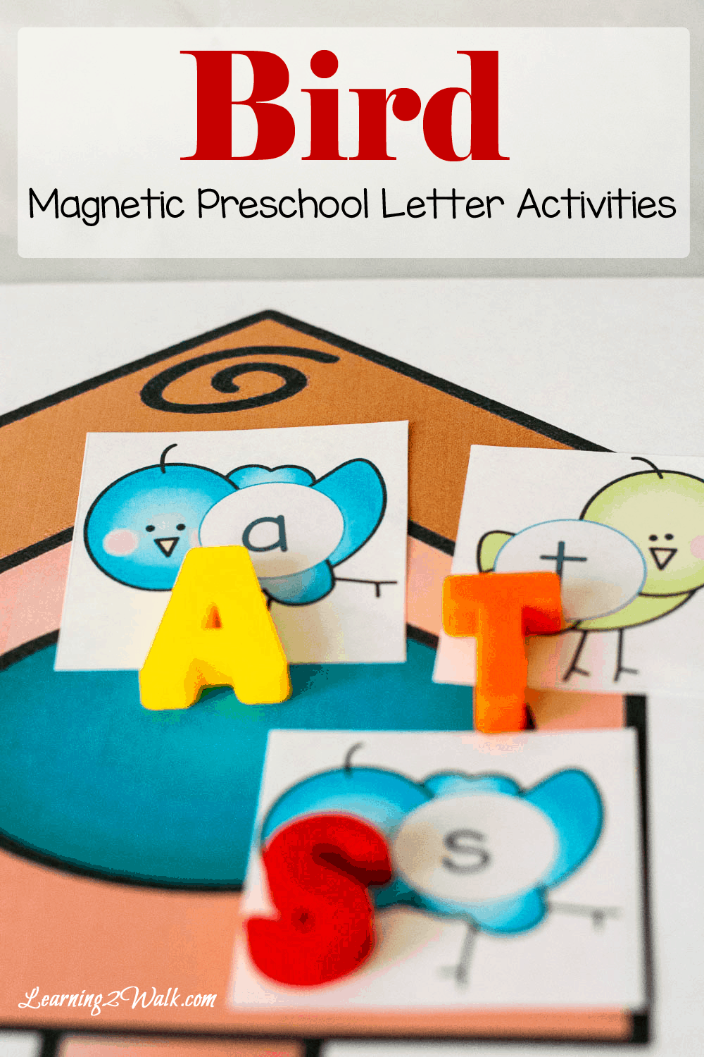 Bird Preschool Letter Activities