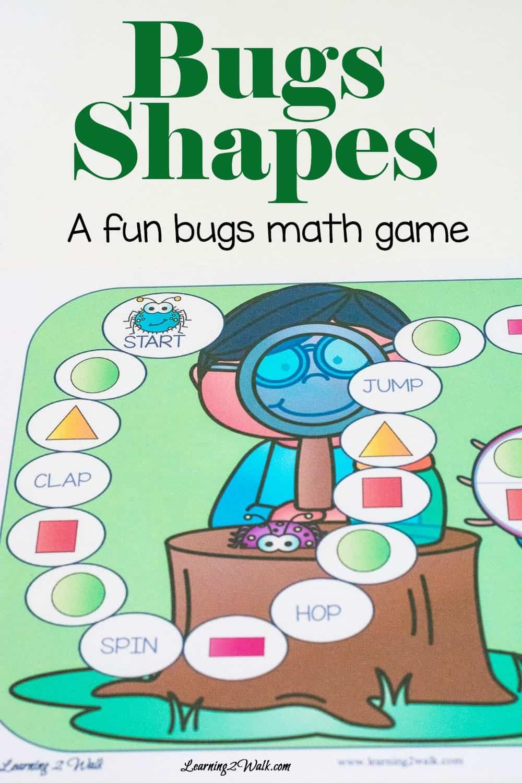 Bugs Fun Kids Math Games- Bug Shapes