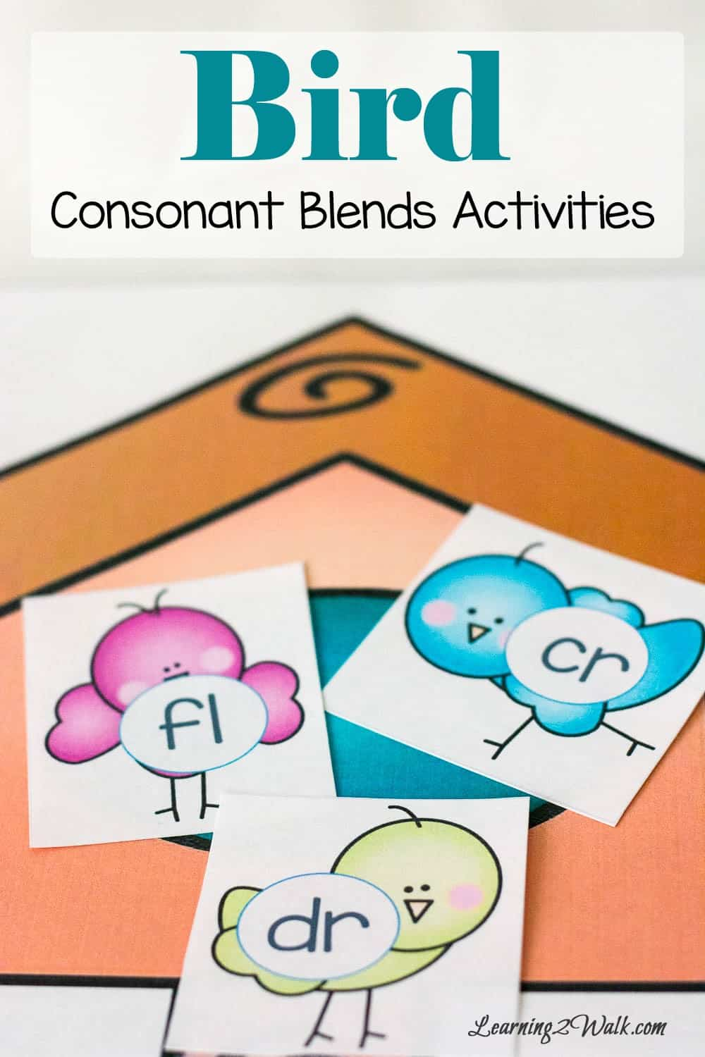 Seriously, how cute are these bird consonant blends activities cards? This definitely helps my daughter work on her blends which helps her learn to read