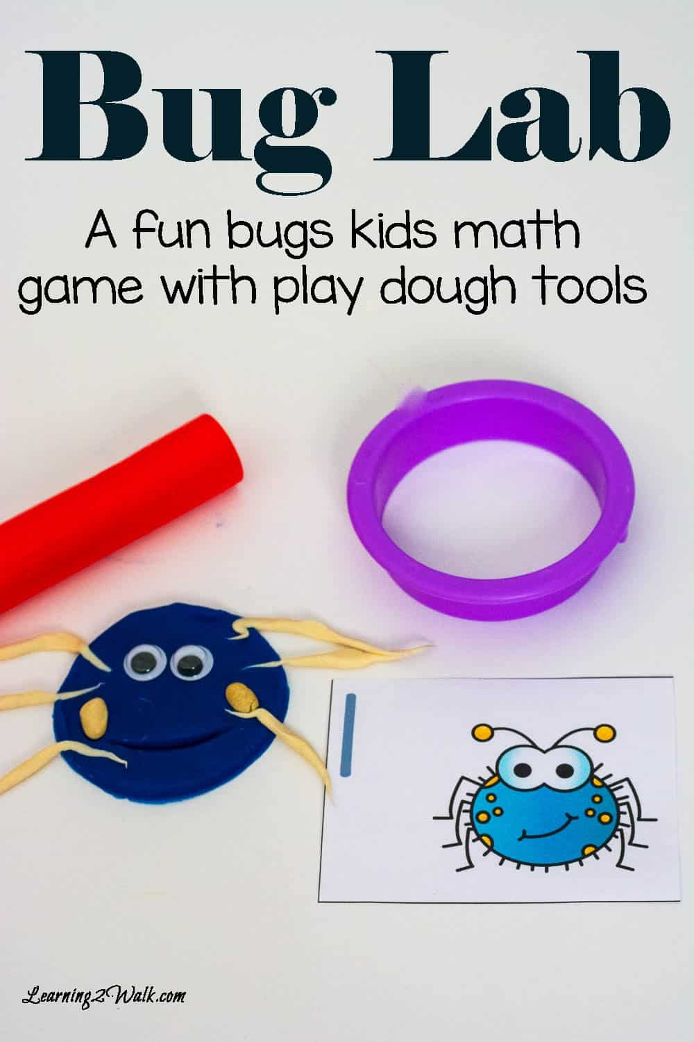 This fun bugs kids math game was a huge hit! It was simple and I cannot wait to do more activities like this.