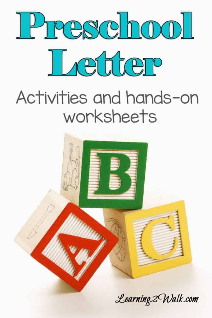 finding enough preschool letter worksheets or even preschool letter activities can be hard especially if you want them to be fun