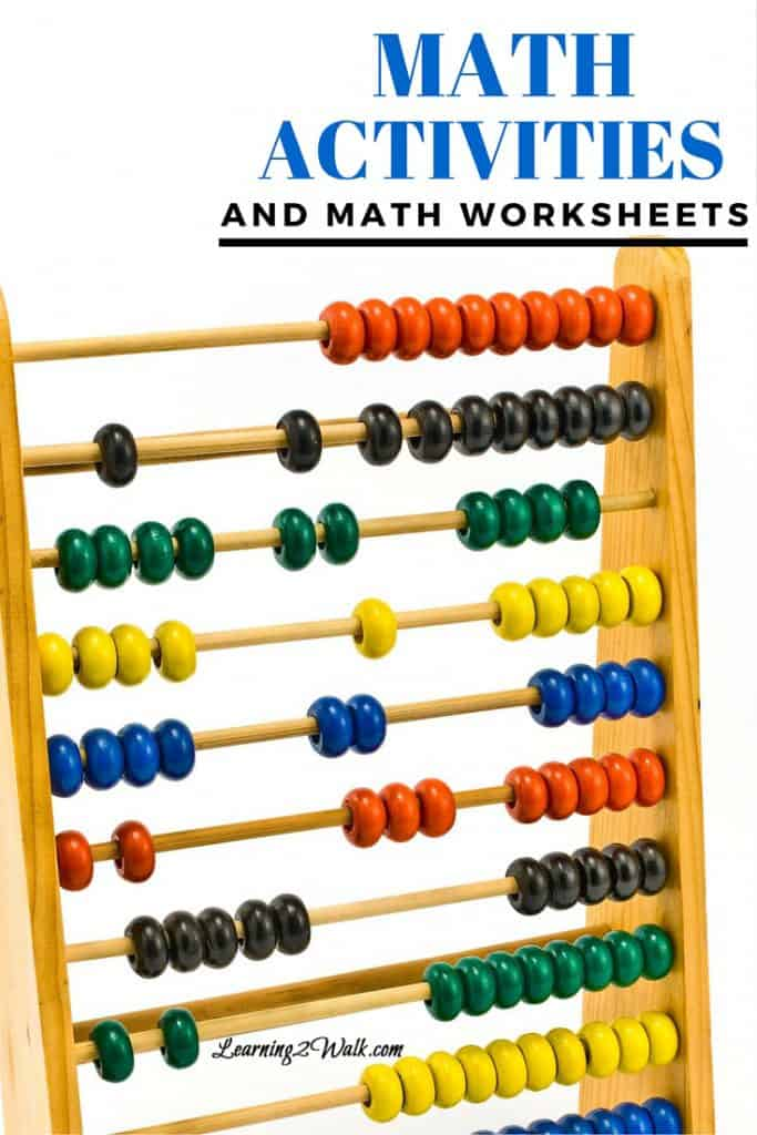 Looking for a few math activities