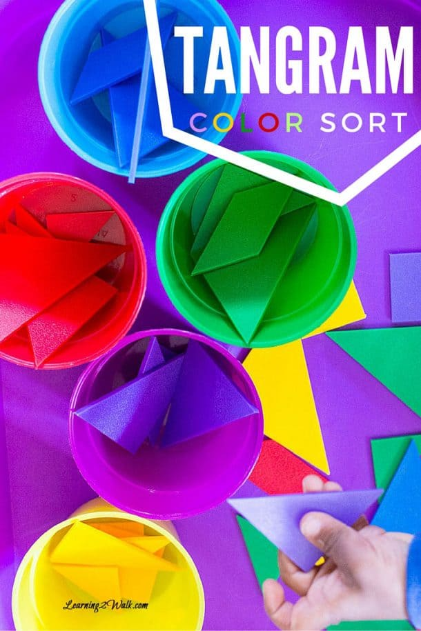 Tangram Color Sort