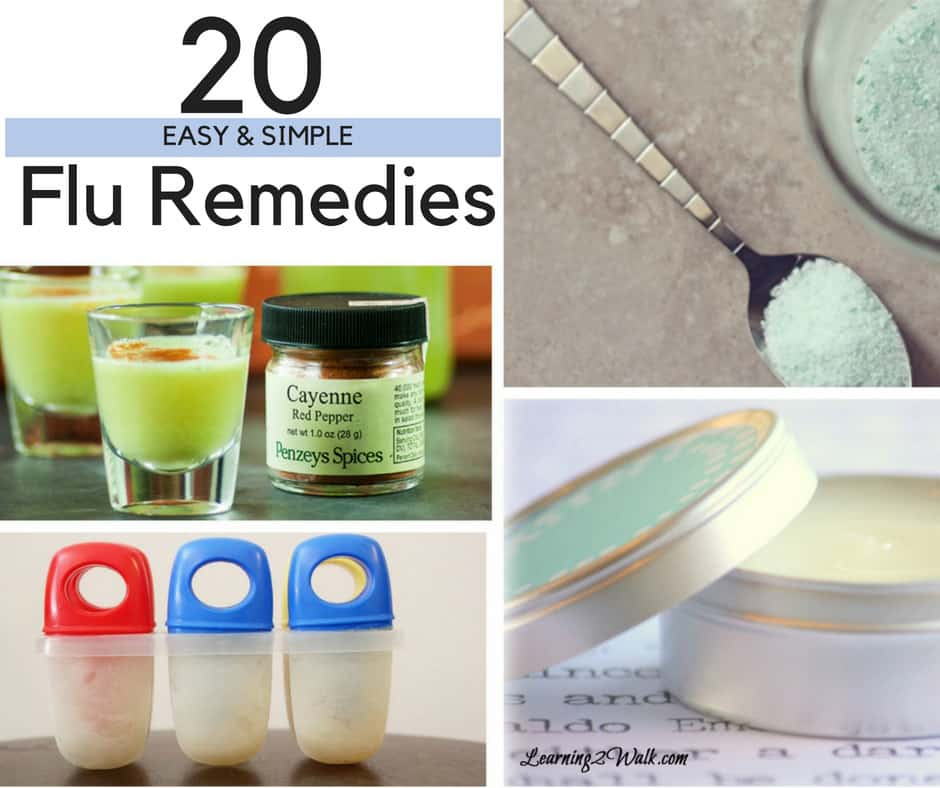 When the cold and flu season hits, I know I will be sick. At least this time I have a list of over 20 easy flu remedies that I can use for myself. I even found a few cold remedies for kids that I may use for our sore throats and they are all natural. BONUS!