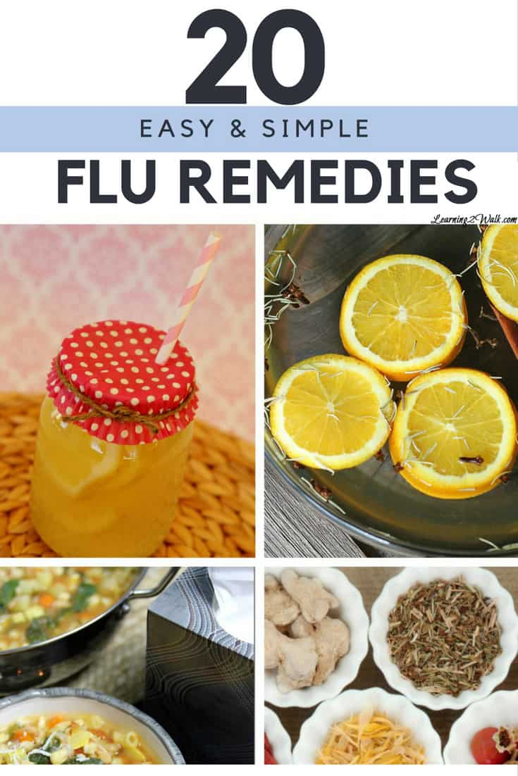 When the cold and flu season hits, I know I will be sick. At least this time I have a list of over 20 flu remedies that I can use for myself. I even found a few cold remedies for kids that I may use.