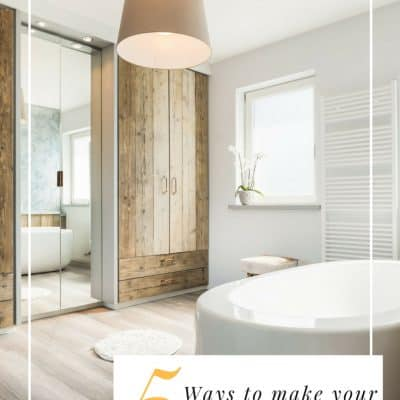5 Ways to Make a Small Bathroom Feel Bigger