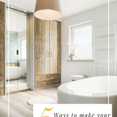 5 Ways to Make a Small Bathroom Feel Bigger