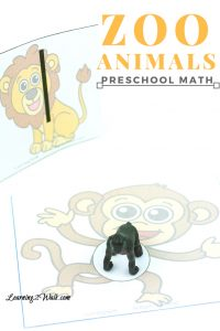 Working on counting in your preschool math activities? These fun zoo animals preschool math activities with free worksheets are sure to help and more.