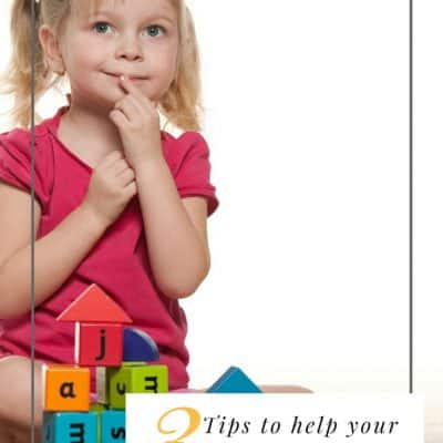 3 Tips to Help Your Preschooler To Do Their Activities Independently