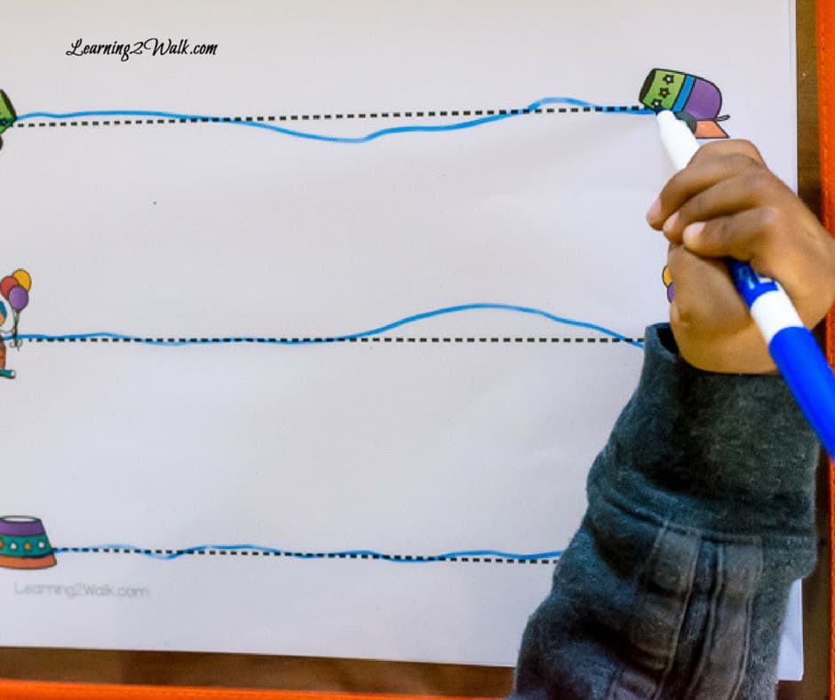 Who can resist a circus preschool theme? These circus fine motor preschool worksheets are just what you need for a quick and easy activity with your kids.