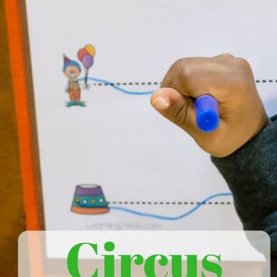 Quick and Easy Circus Fine Motor Activities